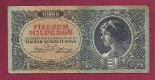 Buy Hungary Tizezer 10,000 MilPengo 1946 CRISP Banknote 007755 RARE!