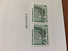 Buy Germany Sights 80p dual imperf mnh 1991