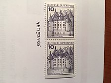 Buy Germany Castle 10p imperf. dual mnh 1977