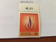 Buy Germany Human Rights mnh 1968