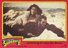 Buy Speeding Across the World #75 - Superman II Comic 1980 Trading Card