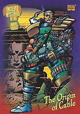 Buy Origin of Cable #137 - 1993 Marvel Comic Trading Card