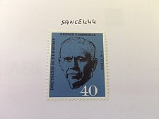 Buy Germany George C. Marshall mnh 1960
