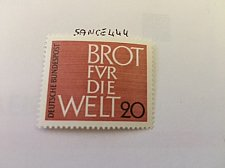 Buy Germany Bread for the world mnh 1962