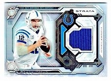 Buy NFL 2014 TOPPS STRATA ANDREW LUCK COLTS GAME WORN JERSEY MNT