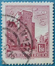 "Buy Stamp Austria 1958 Definitive Housing ""Rabenhof"", Vienna-Erdberg 1.5 Schilling"