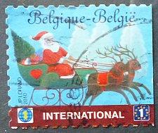 Buy Stamp Belgium 2010 2010 Merry Christmas. Self Adhesive International 1 Euro