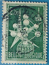 Buy Stamp Belgium 1958 Commemorative World EXPO- Brussel 2.5 Franc