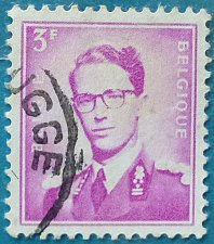 Buy Stamp Belgium 1965 Definitive King Baudouin I (1930-1993) 3 Franc
