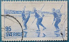 Buy Stamp Sweden 1977 Skating Winter Sports Keep Fit 95 Ore