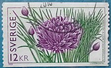 Buy Stamp Sweden 2009 Flora Allium schoenoprasum 12 krona