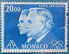 Buy Stamp Monaco 1984 Prince Rainier III and Prince Albert 20 Franc