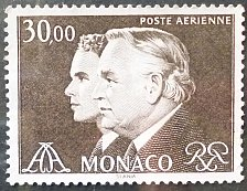 Buy Stamp Monaco 1984 Prince Rainier III and Prince Albert 30 Franc