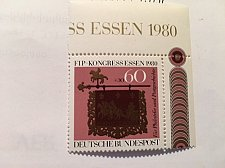 Buy Germany Post House Stamp Day mnh 1980