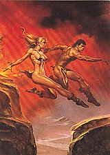 Buy Broad Jump - Boris 1992 Fantasy Art Trading Card #86