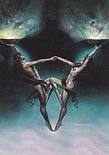 Buy Libra #55 - Boris 1992 Fantasy Art Trading Card
