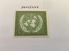 Buy Germany United Nations mnh 1955