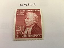 Buy Germany Theodor Fliedner mnh 1952