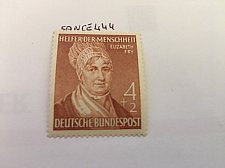Buy Germany Elizabeth Fry mnh 1952