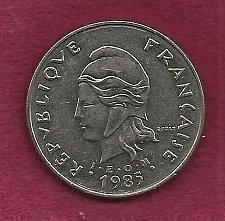 Buy FRANCE 50 Francs 1985 Coin - French Polynesia - Tropical Island