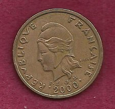 Buy FRANCE 100 Francs 2000 Coin - French Polynesia - Tropical Island