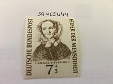 Buy Germany Amalie Sieveking Humanity mnh 1955