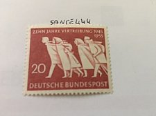 Buy Germany Compulsory Fugitive mnh 1955