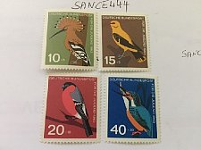 Buy Germany Birds mnh 1963