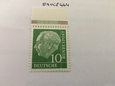 Buy Germany Dr. Th. Heuss 10p mnh 1954