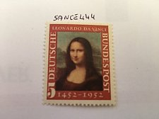 Buy Germany Mona Lisa Da Vinci mnh 1952