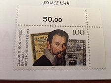 Buy Germany Claudio Monteverdi Composer mnh 1993