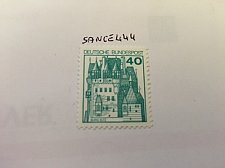 Buy Germany Castle 40p mnh 1977