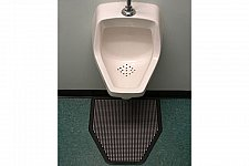 "Buy SANITRO Urinal Urine Absorbent & Smell Removal Mat ( 6 Mats- 22"" x 22"" x 1/4"")"