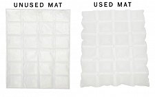 Buy SMELLEZE Blood & Body Fluid Solidifier & Smell Remover Mat: 10 feet x 18 inches