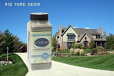 Buy SMELLEZE Eco Yard & Concrete Smell Removal Deodorizer: 50 Lb. Granules Rid Odor