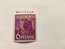 Buy Germany Berlin Red Overp. 6p mnh 1949