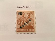 Buy Germany Berlin Green Overp. 10p mnh 1949