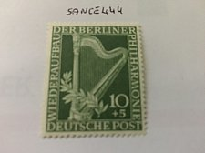 Buy Germany Berlin Philhamonic 10+5p mnh 1950