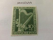 Buy Germany Berlin Philhamonic 10+5p mnh 1950
