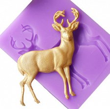 Buy fashion deer silicon mould