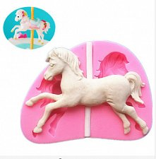 Buy fashion horse silicon mould