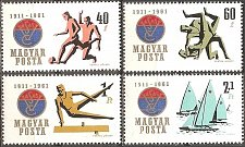Buy Hungary: Sports (1961) MNH, Complete Set