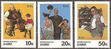 Buy Zaire: Norman Rockwell Illustrations (1981) MNH