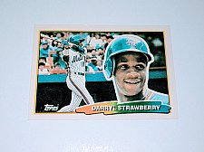 Buy Vintage Darryl Strawberry New York Mets 1988 Topps Baseball Collectors Card