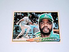 Buy Vintage Dave Parker Oakland Athletics 1988 Topps Baseball Collectors Card