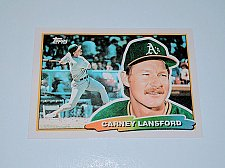 Buy Vintage Carney Lansford Oakland Athletics 1988 Topps Baseball Collectors Card