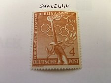 Buy Berlin The Olympic Games 4p mnh 1952