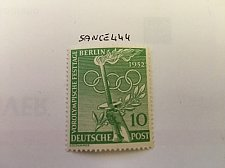 Buy Germany Berlin The Olympic Games 10p mnh 1952