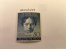 Buy Germany Berlin Van Beethoven mnh 1952