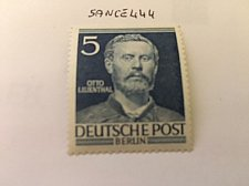 Buy Germany Berlin Famous Men 5p mnh 1953